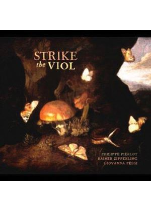 Strike the Viol (Music CD)