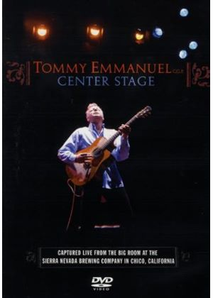 Tommy Emmanuel: Centre Stage (Music DVD)