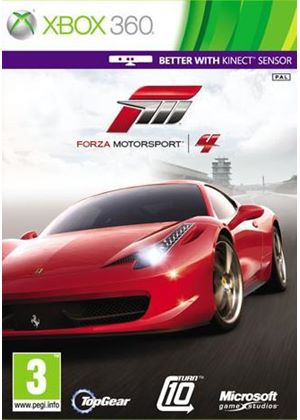 Forza Motorsport 4 (Kinect Compatible) (Xbox 360)