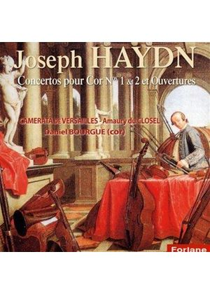Haydn: Concertos for Horn Nos. 1 & 2; Overtures (Music CD)
