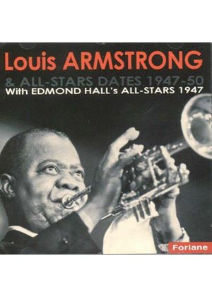 Louis Armstrong - With Edmond Hall's All Stars 1947 (Music CD)