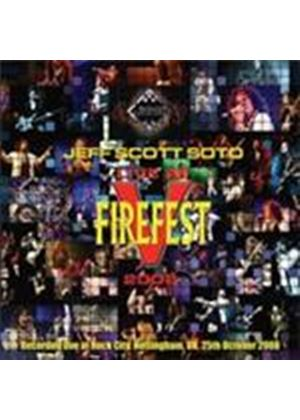 Jeff Scott Soto - Live At Firefest 2008 (Music CD)
