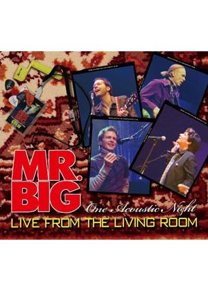 Mr. Big - Live from Living Room (Live Recording) (Music CD)