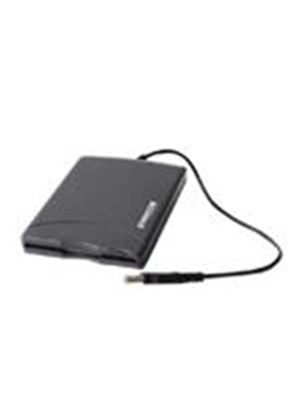 Freecom - Disk drive - floppy disk ( 1.44 MB ) - USB - external - black