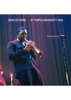 John Coltrane - At Temple University 1966 (Music CD)