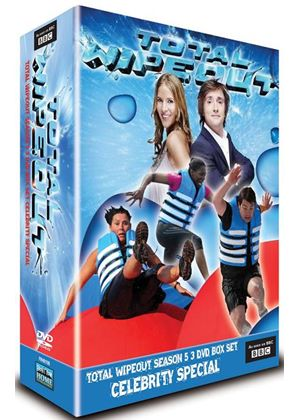 Total Wipeout Season 5 Celebrity Special 3 DVD Box Set