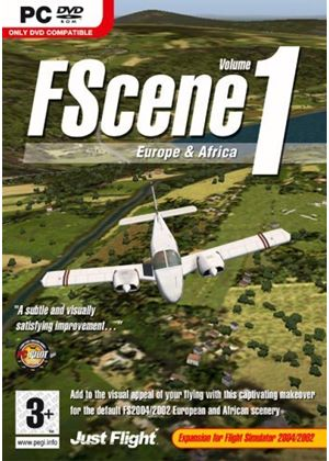 FScene Vol 1 - Europe & Africa (PC DVD)