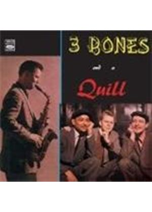Cleveland & Dahl/Rehak/Quill - 3 Bones And A Quill (Music CD)