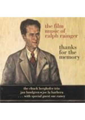 Various Artists - Thanks For The Memory (Ralph Rainger Films) (Music CD)
