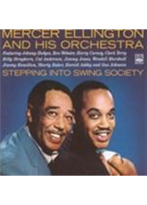 Mercer Ellington - Stepping Into Swing Society (Music CD)
