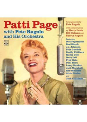 Patti Page & Pete Rugolo Orchestra - Patt Page With Peter Ruglio And His Orchestra (Music CD)