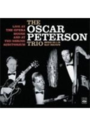 Oscar Peterson Trio - Live At The Opera House/Shrine Auditorium (Music CD)