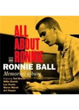 Ronnie Ball - All About Ronnie (Music CD)
