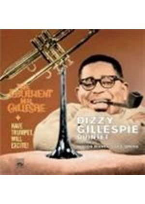 Dizzy Gillespie Quartet - Have Trumpet Will Excite/Ebullient Mr. Gillespie (Music CD)