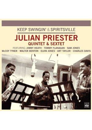 Julian Priester - Keep Swingin'/Spiritsville (Music CD)