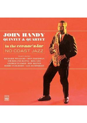 John Handy - In the Vernacular/No Coast Jazz (Music CD)