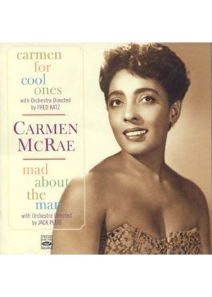 Carmen McRae - Carmen for Cool Ones/Mad About the Man (Music CD)