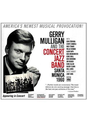 Gerry Mulligan - Concert Jazz Band (Santa Monica 1960) (Music CD)