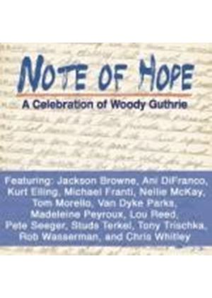 Various Artists - Note of Hope: A Celebration of Woody Guthrie (Music CD)