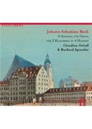 Bach: (6) Trio Sonatas arranged for 2 Pianos (Music CD)
