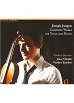 Joseph Jongen: Complete Works for Viola & Piano (Music CD)