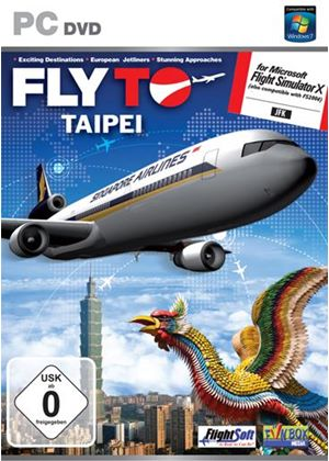 Fly To Taipei Add-On for FS 2004 and FSX (PC DVD)