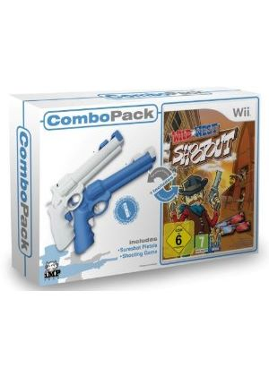 Wild West Shootout (With 2 Revolvers) (Wii)