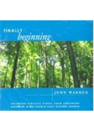 John Warren - Finally Beginning (Music CD)