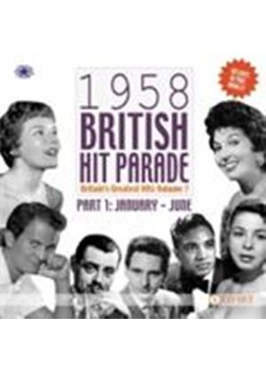 Various Artists - 1958 British Hit Parade Vol.1 (January - June/Britain's Greatest Hits Vol.7) (Music CD)