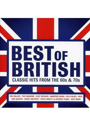 Various Artists - Best of British (Classic Hits from the 60s & 70s) (Music CD)