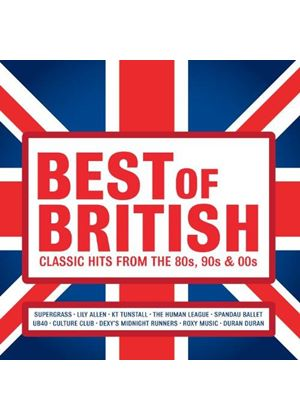 Various Artists - Best of British (Classic Hits from the 80s, 90s and 00s) (Music CD)
