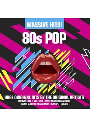 Various Artists - Massive Hits! (80s Pop) (Music CD)