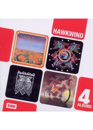 Hawkwind - Hawkwind/In Search of Space/Doremi Fasol Latido/Hall of the Mountain Grill (Music CD)