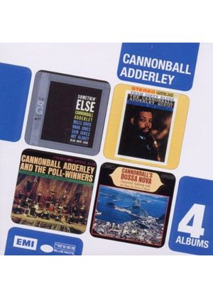 Cannonball Adderley - Somethin' Else/Them Dirty Blues/Cannonball's Bossa Nova/Why Am I Treated So Bad (Music CD)