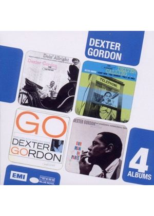 Dexter Gordon - Doin' Alright/Dexter Calling/Go/Our Man in Paris (Music CD)