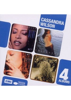 Cassandra Wilson - Blue Light Till Dawn/New Moon Daughter/Travelling Miles/Belly of the Sun (Music CD)