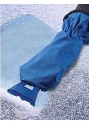 Windscreen Ice Scraper with Mitt (W115)
