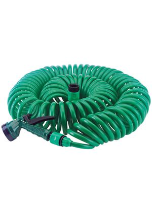 76788 10m x 3/8-inch Recoil Hose with Spray Gun and Tap Connector