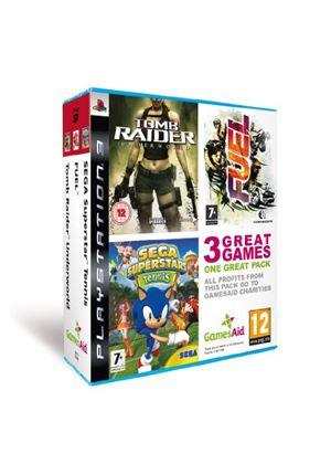 Games Aid: Charity Triple Pack (PS3)