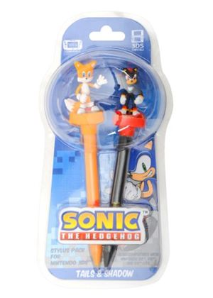 Sonic The Hedgehog 3D Stylus Twin Pack - Shadow & Tails (Wii U/ 3DS XL/ 3DS)
