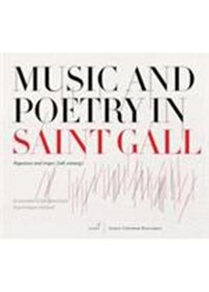 Music and Poetry in Saint Gall (Music CD)