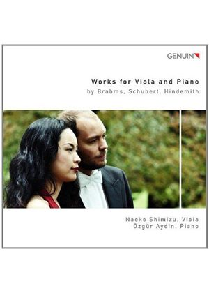 Brahms, Schubert, Hindemith: Works for Viola & Piano (Music CD)