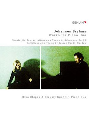 Brahms: Works for Piano Duo (Music CD)