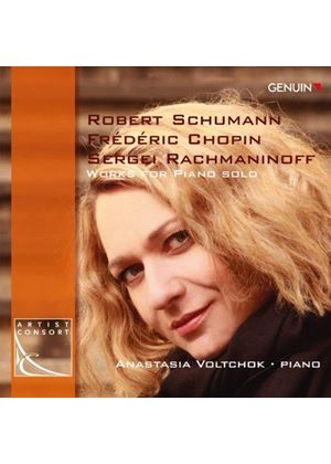 Schumann, Chopin, Rachmaninov: Works for Piano Solo (Music CD)