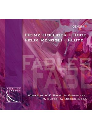 Fables: Works by W.F. Bach, A. Ginastera, R. Suter, A. Moeschinger (Music CD)