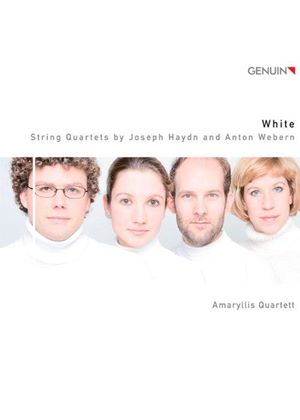 White: String Quartets by Joseph Haydn and Anton Webern (Music CD)