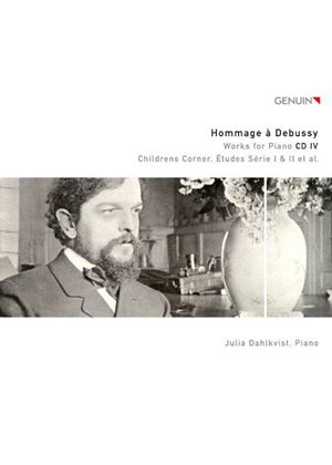 Hommage à Debussy, Vol. 4: Works for Piano (Music CD)