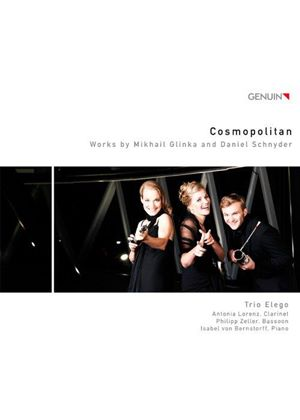 Cosmopolitan: Works by Mikhail Glinka and Daniel Schnyder (Music CD)
