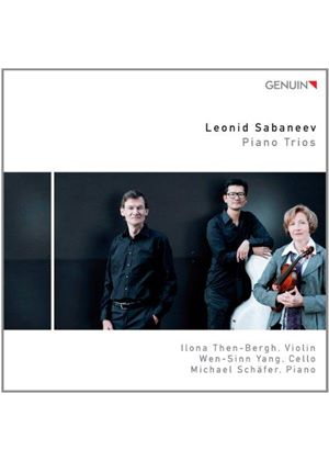 Leonid Sabaneev: Piano Trios (Music CD)