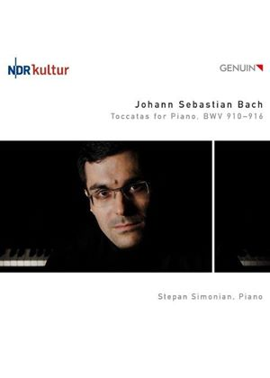 Bach: Toccatas for Piano, BWV 910-916 (Music CD)